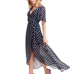 NWT Show me Your Mumu Marianne wrap dress Dots